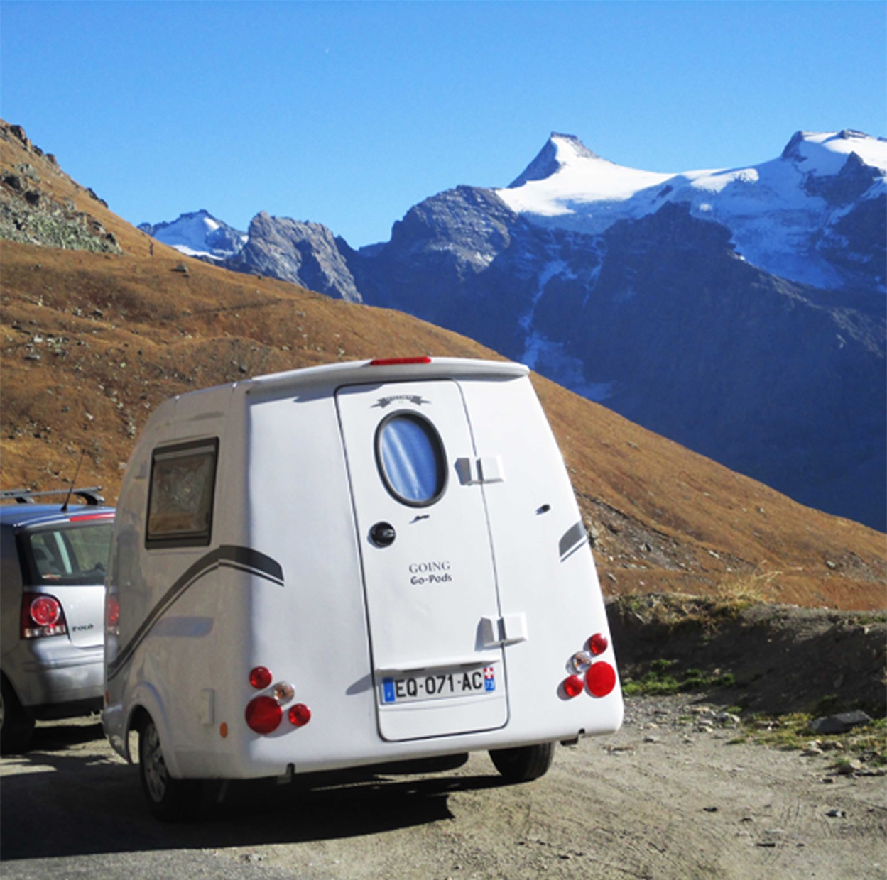 Go-Pod in the Alps