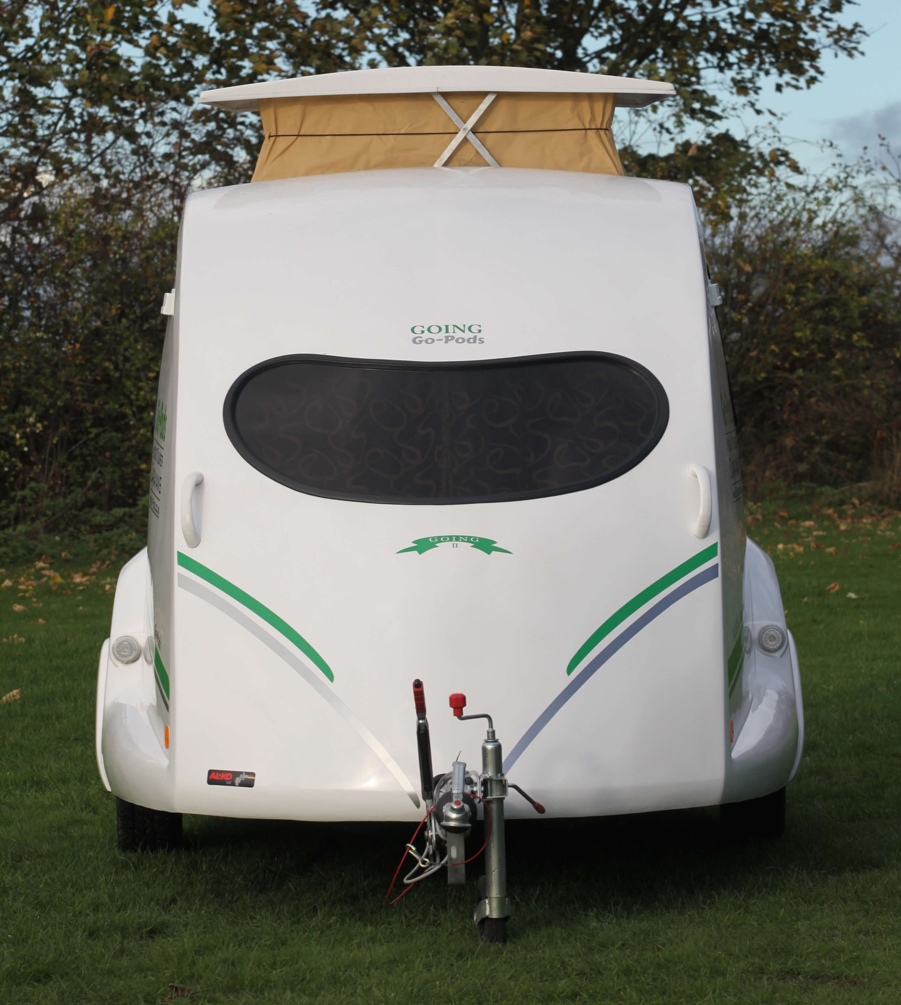 Go-Pods. The 2 berth micro tourer caravans 9