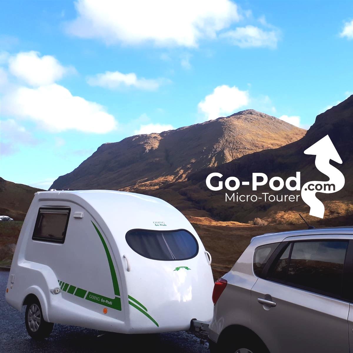 Go-Pod.com Glencoe Scotand square
