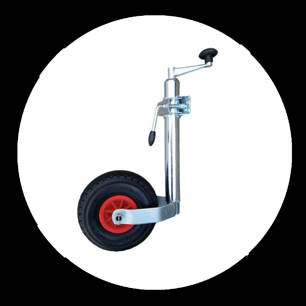 Inflatable Jockey Wheel