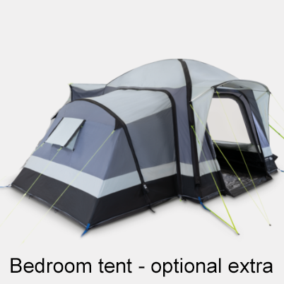Kampa Go-Pod Awning 5 - bedroom tent