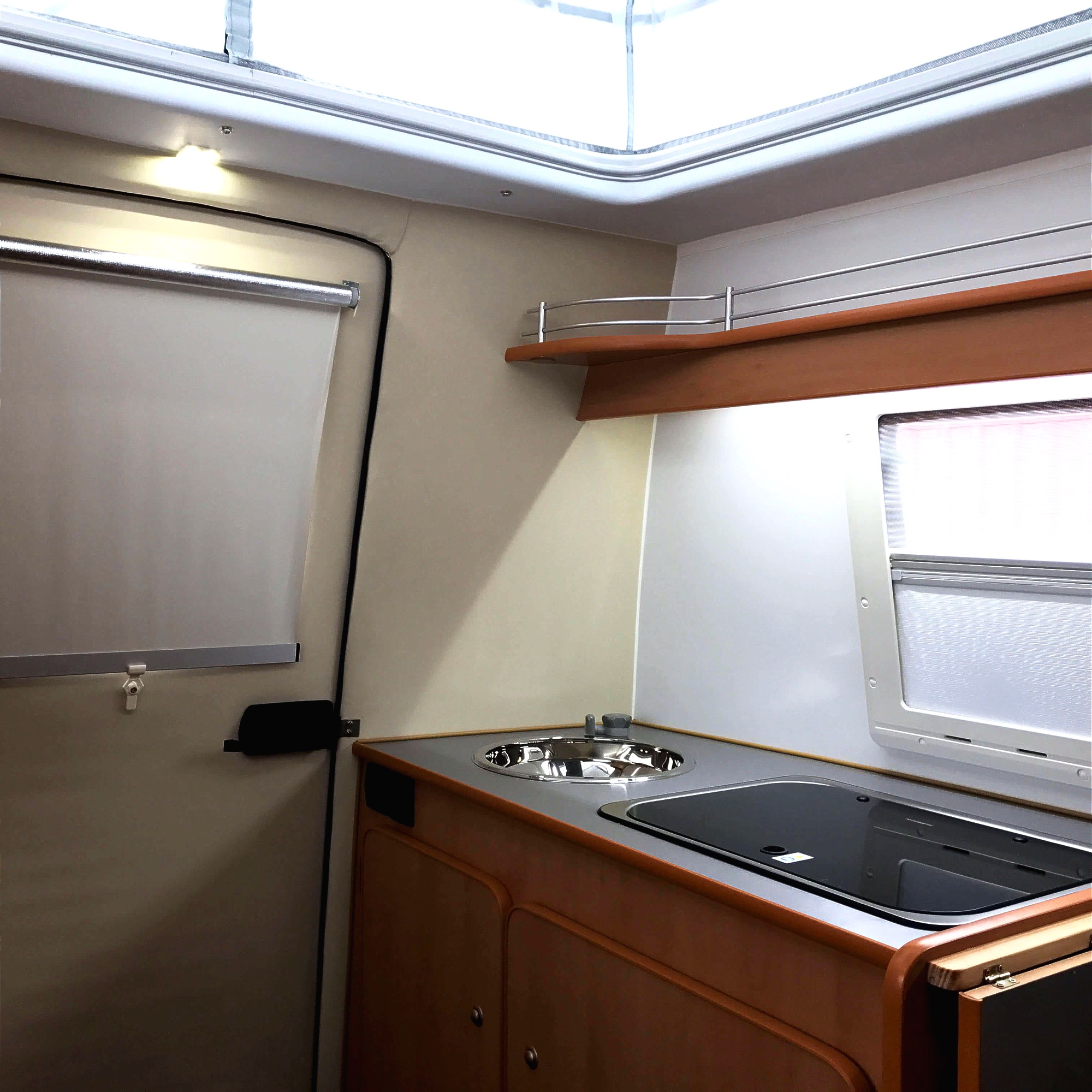 Go-Pod lightweight caravans  interior 7