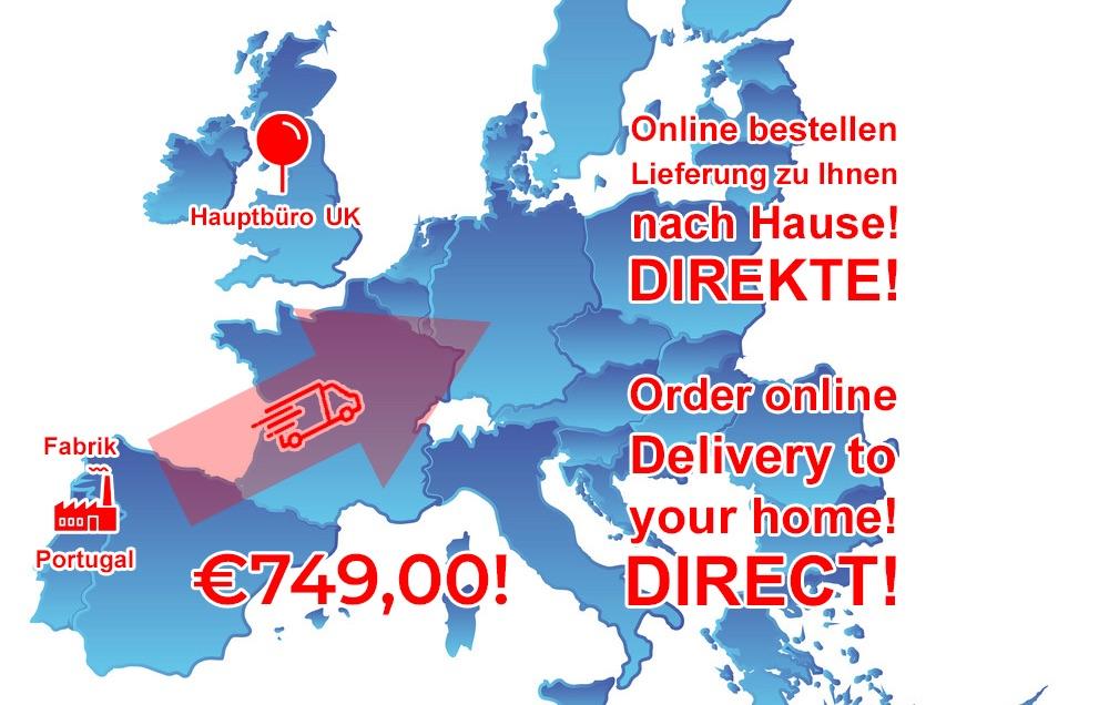Go-Pod Euro delivery