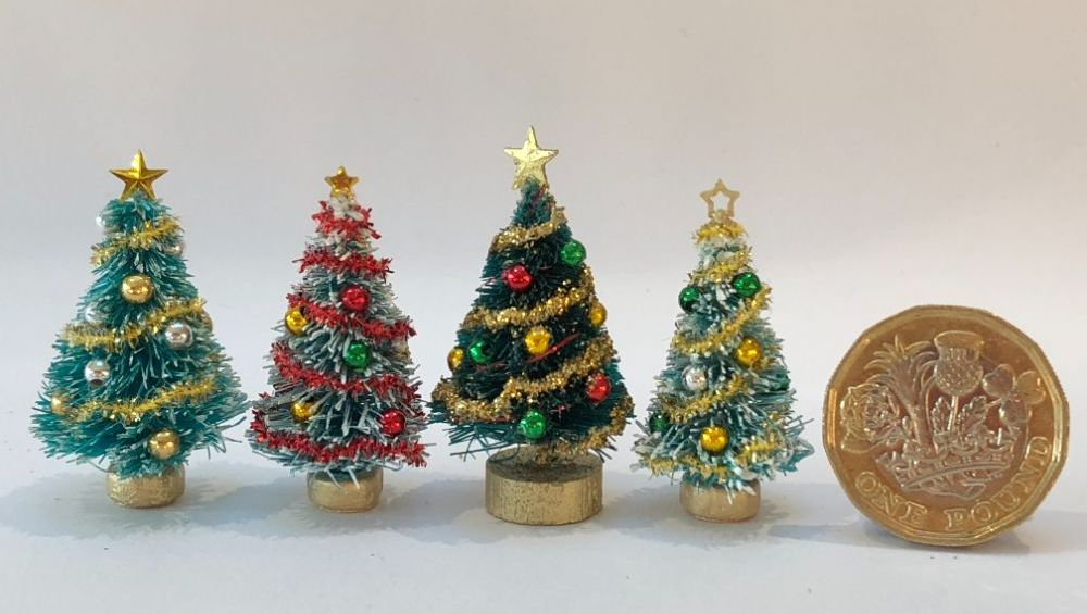 Christmas Trees 1/48th Scale