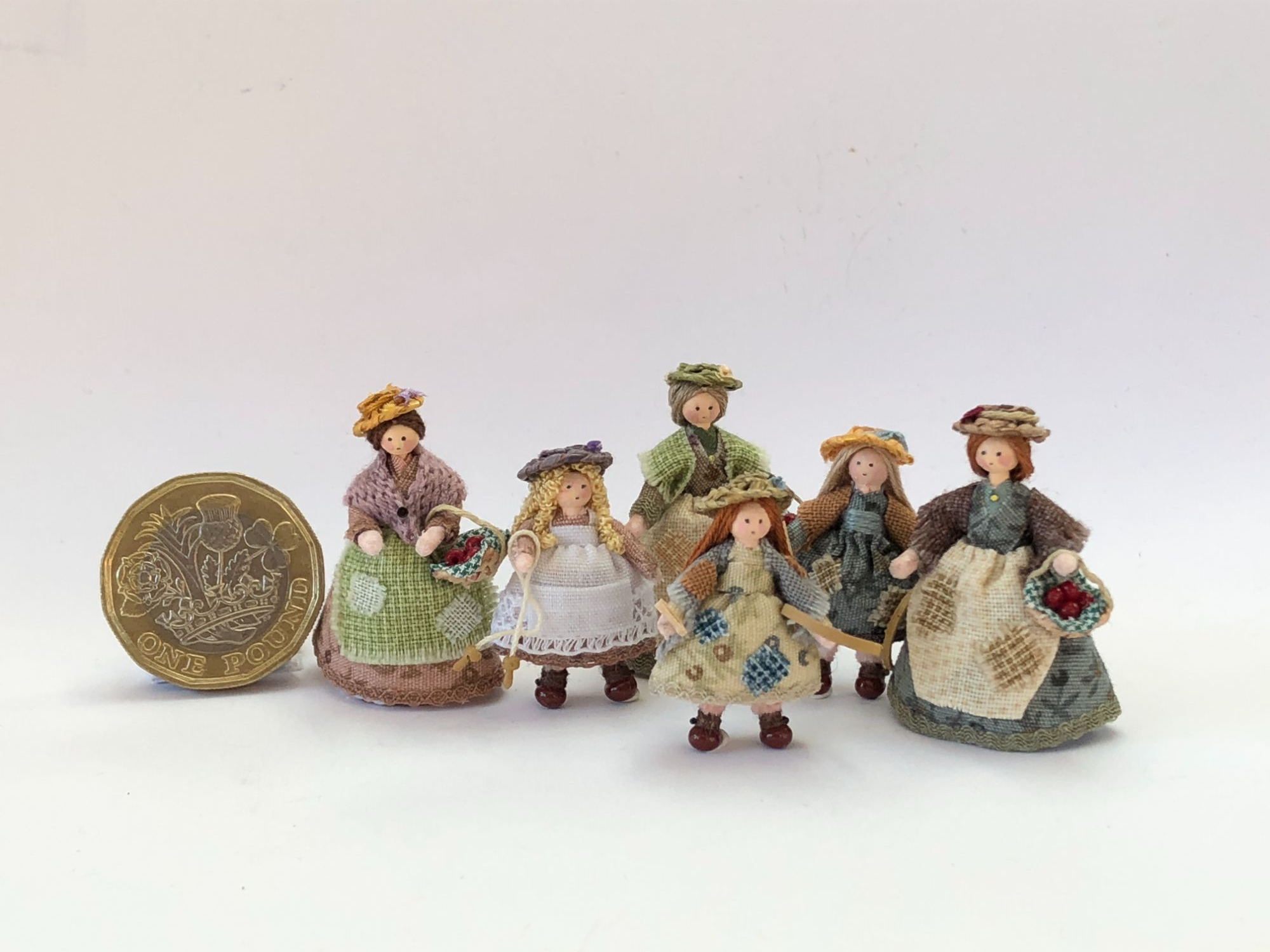 Victorian 1/48th people