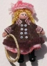 Renoir doll brown/pink