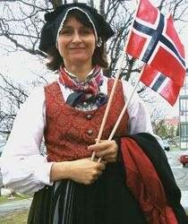 Norwegian Doll Signe Bunad