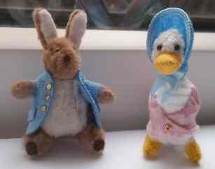 Peter Rabbit and Jemima