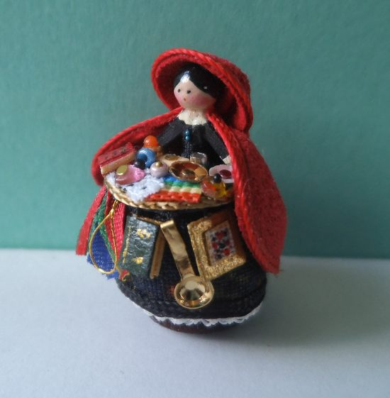 Pedlar Doll Black Side 1