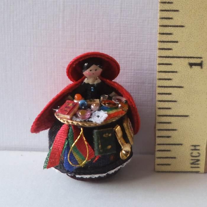 Pedlar Doll Black Measure 1