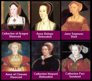 Henry viii wives portraits