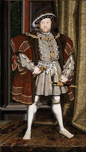 Henry viii portrait holbein