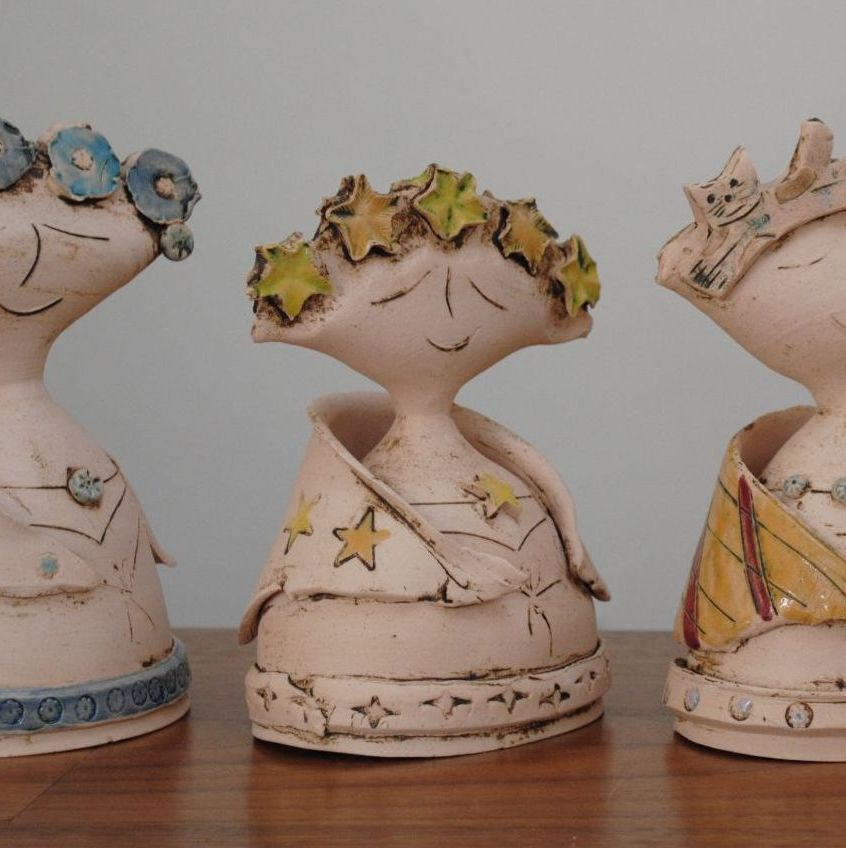 Small  Lady Sculpture