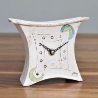 Ceramic mantel clock - Mini wide