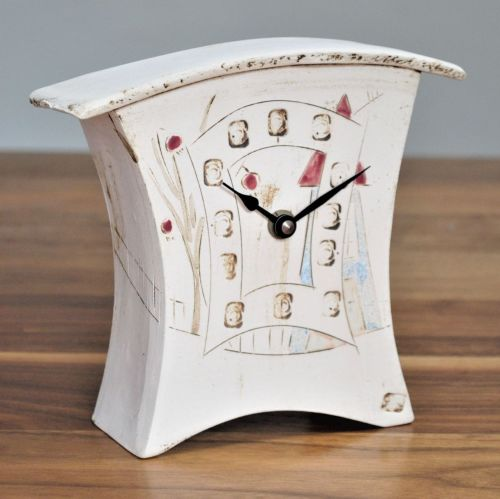 ceramic mantel clock small