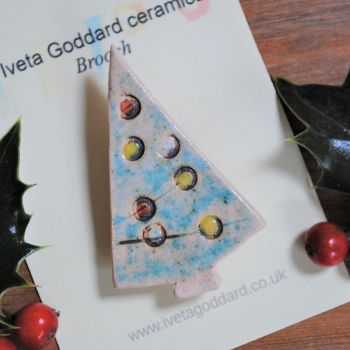 "Christmas brooch  ""Christmas tree"""