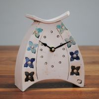 Ceramic clock mantel - Small