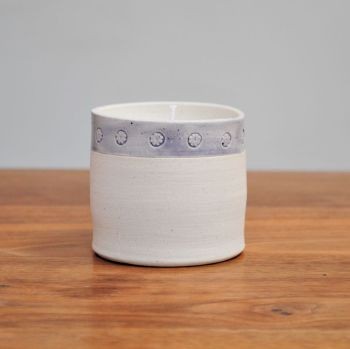 Fragrance candle - Purple rim