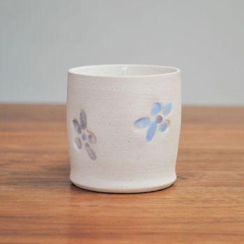 "fragrance candle ""flower print"""