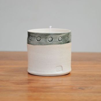 Fragrance candle - Grey rim