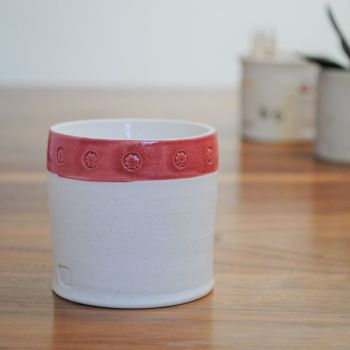 """fragrance candle """"red rim"""""""
