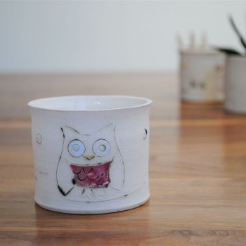 """fragrance candle """"pink owl"""""""