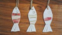 Set of 3 hanging fish