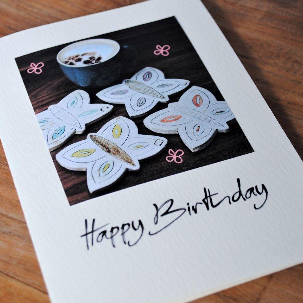 Birthday card - Chicken