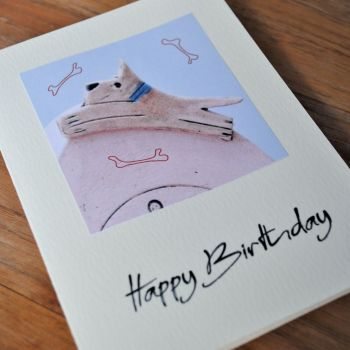 Birthday card - Dog