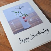 Birthday card - Flower