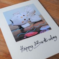 Birthday card - Fish