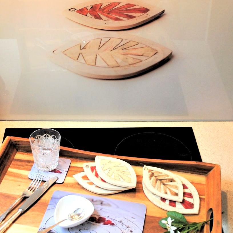Bespoke Commissions, splashbacks,  table mats and coasters.