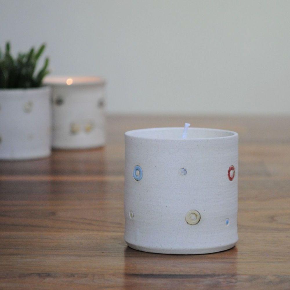 lavender fragrance candle