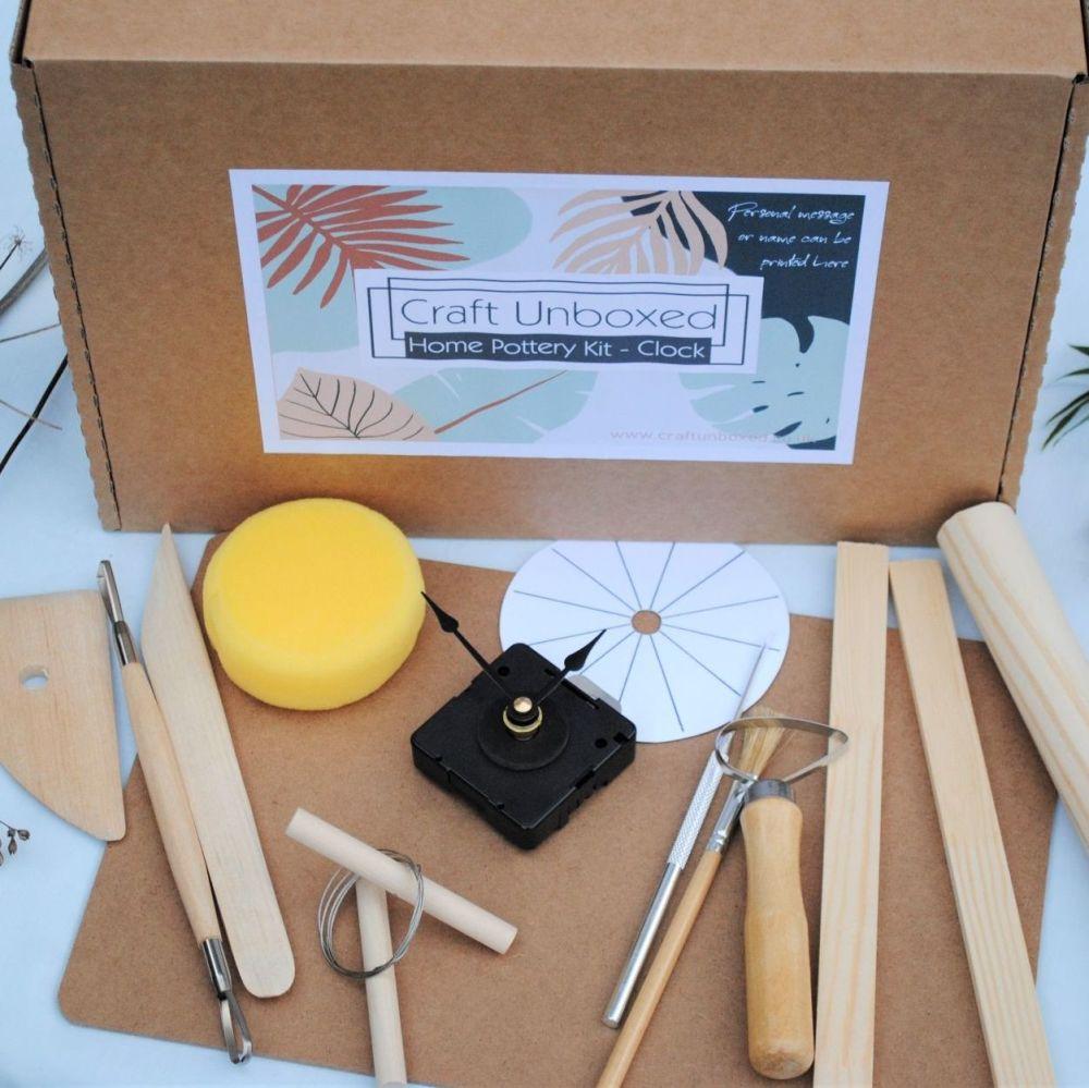 Home pottery kit - Clock PLus