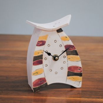 Ceramic clock mantel - Mini