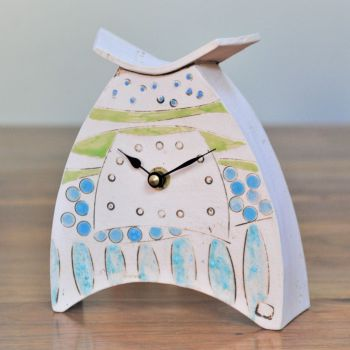 Ceramic clock mantel - Small  . . . . . . . . . . . SALE . . . . SALE . . . .SALE . . .  from £52