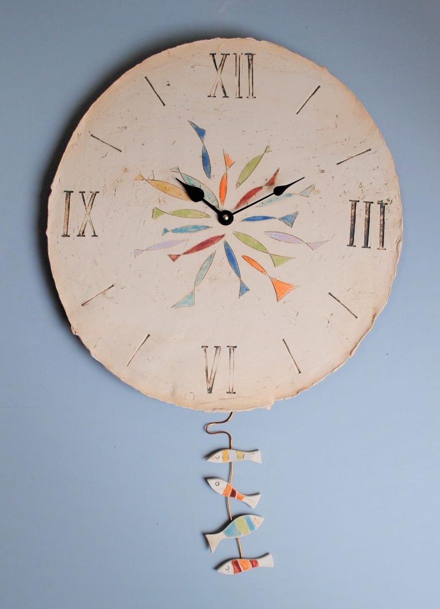 Wall large clock