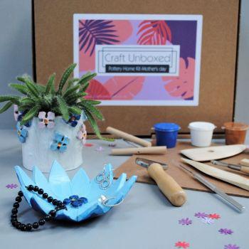 Home pottery kit - Pot & Dish