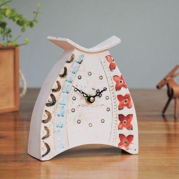 Ceramic clock mantel - Small