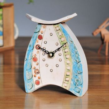 Ceramic clock mantel - Mini