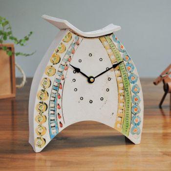 Ceramic clock mantel - Medium