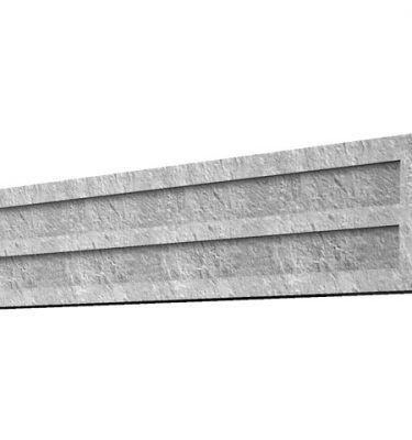 concrete gravel board 6'x1'