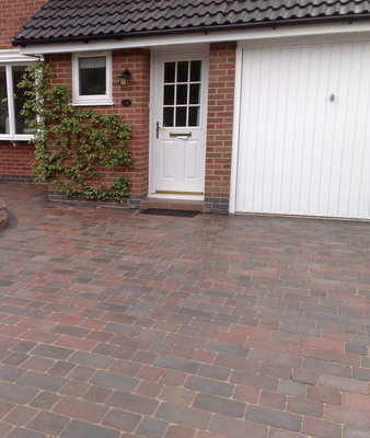 Rumbled Block Paving