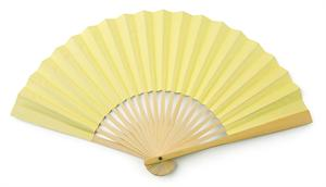 Light Yellow Paper Fans