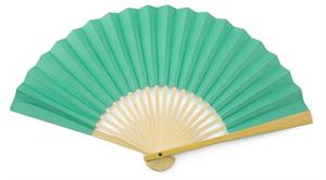 Tiffany Blue Paper Hand Fan