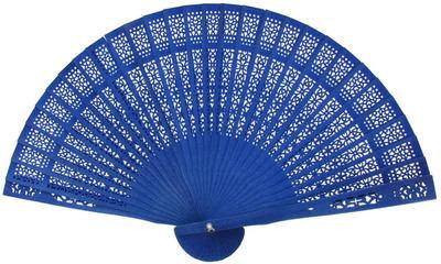 Blue Sandalwood Fans