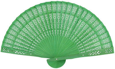 Green Sandalwood Fans
