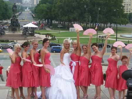 Bridesmaid Fans 2