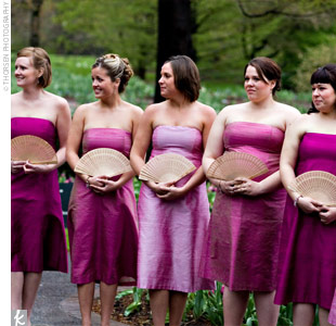 Bridesmaid Fans 3