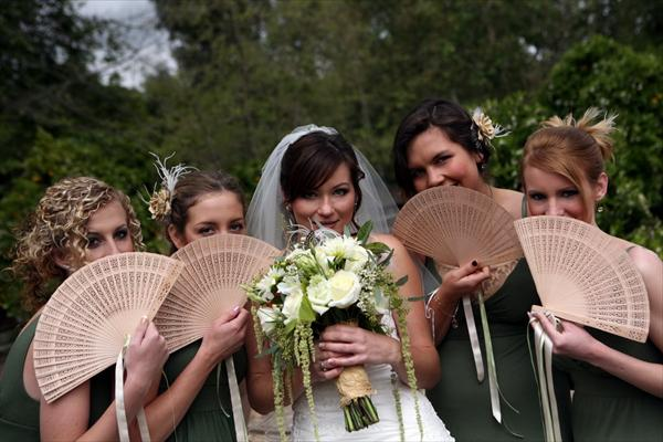 sandalwood bridesmaids